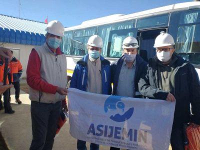 Junto a funcionarios nacionales y provinciales, ASIJEMIN recorrió Veladero