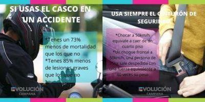 UCR-Evolución Campana llamó a crear conciencia con respecto a la Seguridad Vial