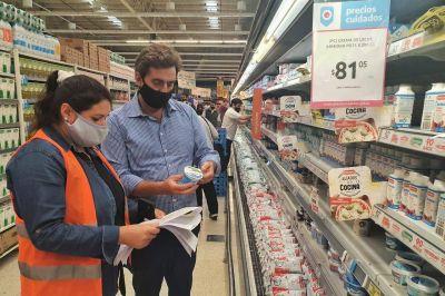 Control de precios en grandes supermercados