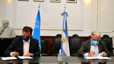 Escobar firmó un convenio con la UBA para abordar problemática de la ecorregión del Delta e Islas del Paraná