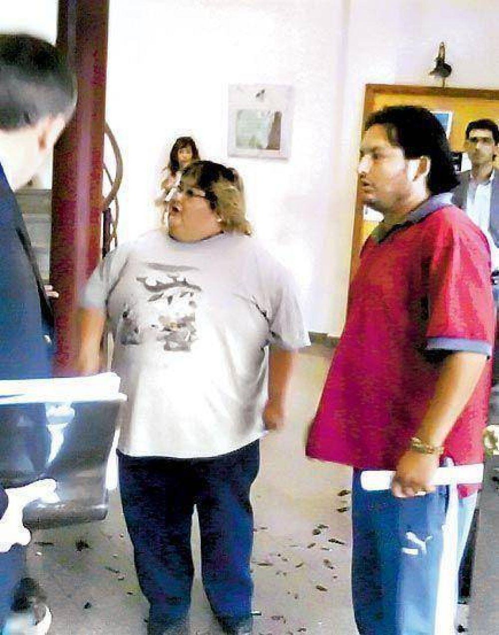 En Jujuy, piqueteros K insultaron y le tiraron huevos al jefe de la UCR