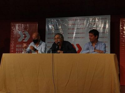Interna radical: Abad presentó su lista en Vicente López con el apoyo de Brandoni