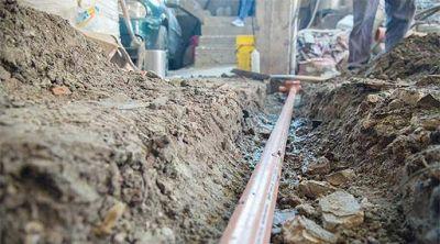 Lanús: más de 1.600 viviendas ya cuentan con acceso a cloacas