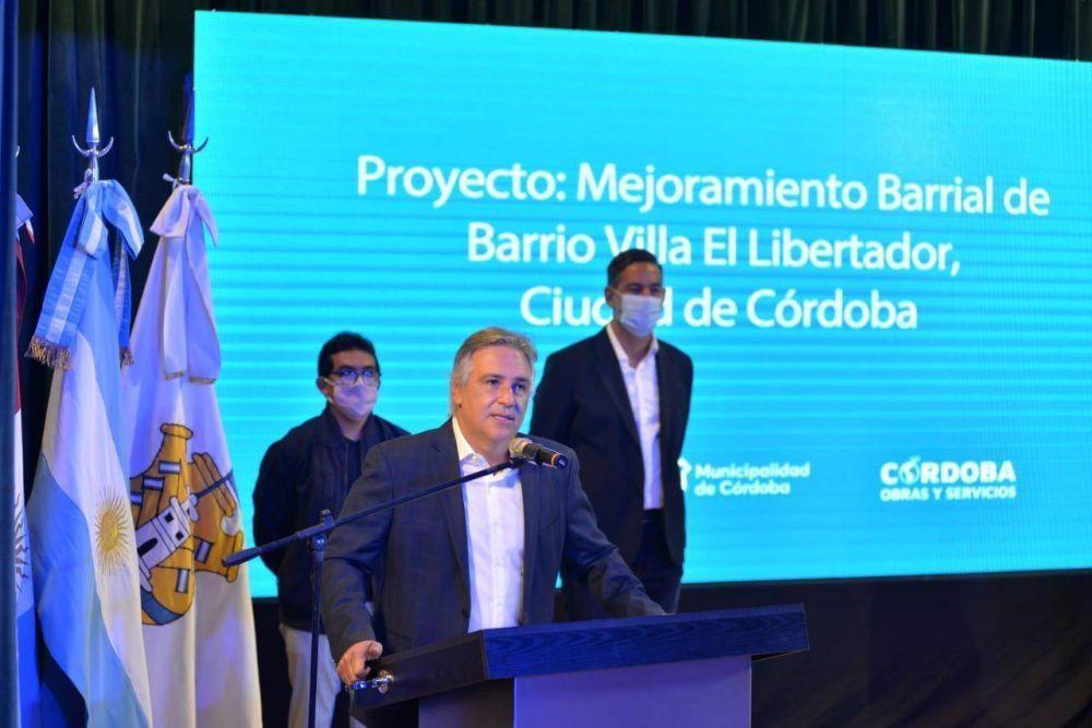 Villa El Libertador: la Municipalidad firmó convenios para avanzar con las obras