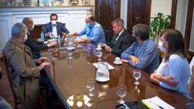 Tras la reunión con Llamosas, anuncian que trabajarán junto con la oposición
