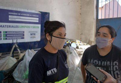 El rol esencial de cartoneros se ratificó con el aporte de la sociedad y más de 700 toneladas de reciclados