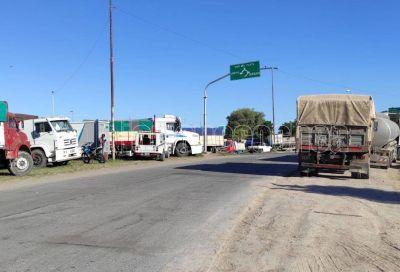 Transportistas levantaron el paro en Necochea y Quequén