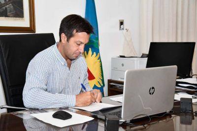 Rojas firmó un convenio de colaboración con el Ministerio Público de la Provincia