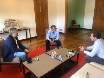 Intensa agenda del ministro de Obras Públicas en Buenos Aires con funcionarios nacionales
