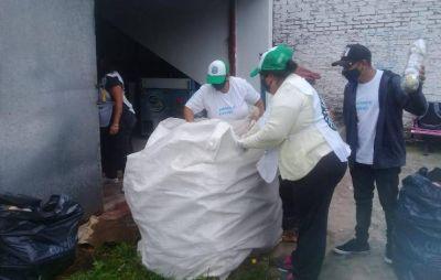 Escobar Sostenible recolectó en enero 24.000 kilos de residuos sólidos urbanos para reciclar