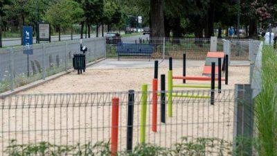 San Isidro: se inauguró un segundo espacio de juegos para perros