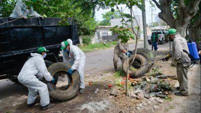 ¡No te olvides del Dengue!: Jornada de descacharrización en Altamira