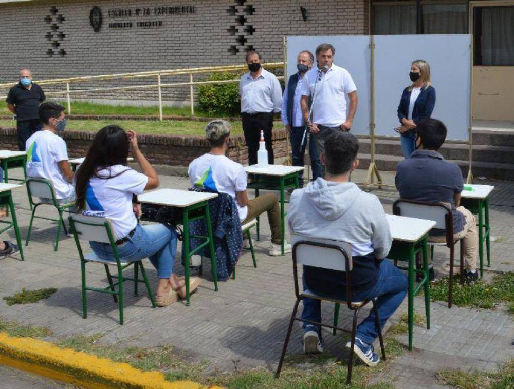 Juntos por el Cambio llevó a cabo una clase abierta en el distrito