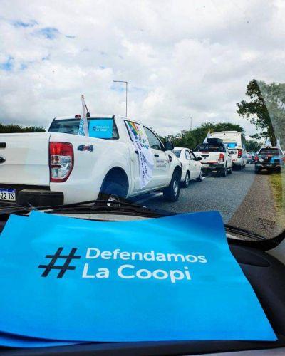 El movimiento cooperativo y mutual de la provincia marcha en defensa de la Coopi