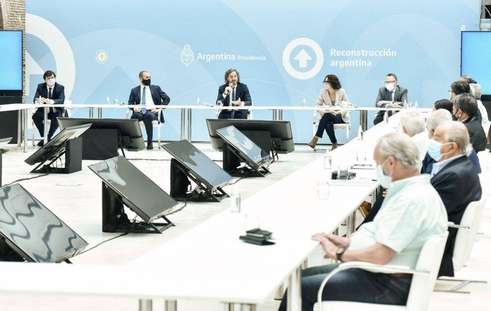 Las tres centrales gremiales apoyaron el acuerdo político para monitorear precios y salarios