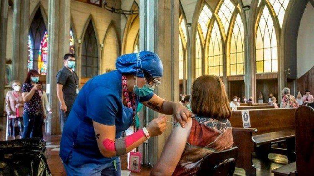 Chile: Catedral de Osorno habilitada para vacunación masiva