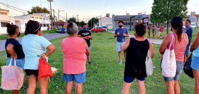 """Alejo Sarna: """"Cada vez mas vecinos se inscriben para recibir la vacuna"""""""