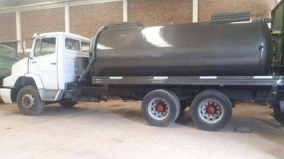 Quilmes: Encontraron el camión que contaminó el Arroyo San Francisco