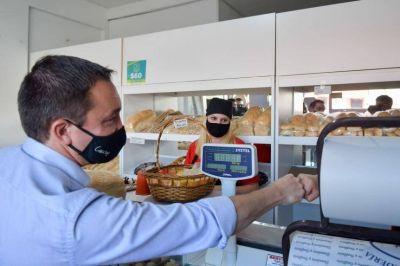 """Watson visitó una panadería adherida al programa """"Mercado Activo"""""""