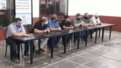 Las 62 Organizaciones Peronistas de la región apoyaron a Máximo Kirchner