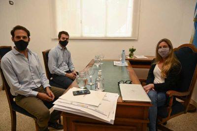 Gestión en educación: Hasper y Jorge se reunieron con la ministra Agustina Vila