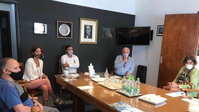 La Cámara Económica se reunió con Padres organizados