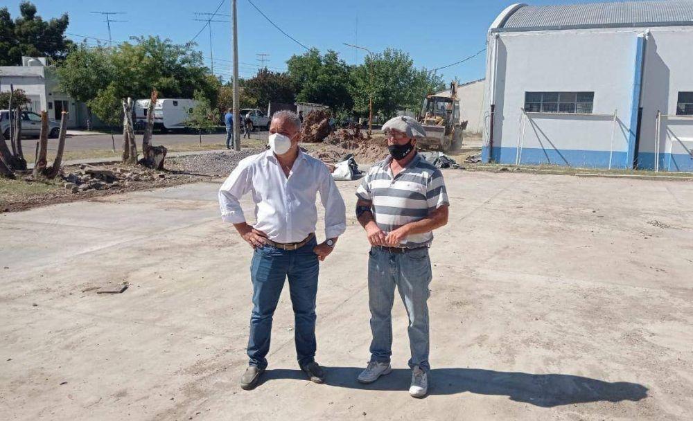 El municipio avanza con obras en la Escuela Primaria N° 1