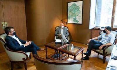 Intendente de Tres Lomas se reunió con Carlos Bianco