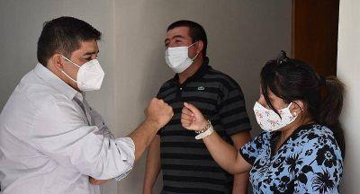 Autoridades de Salud visitaron el Puesto Sanitario Tres Cerros