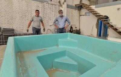 Se viene una fábrica de piscinas en Trelew