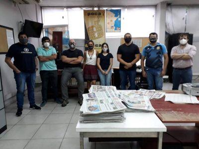 Periodistas paralizan el diario correntino Época en demanda del pago de salarios