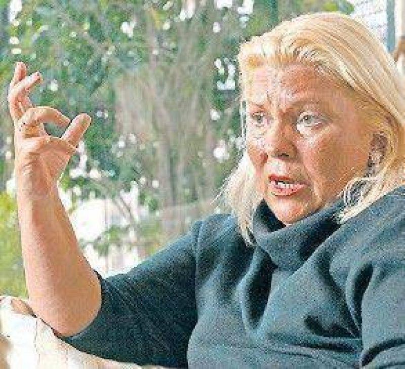 Duras críticas del kirchnerismo a Carrió