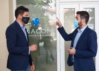 Mar del Plata: El director del ENACOM recorrió la delegación para garantizar los derechos de los usuarios
