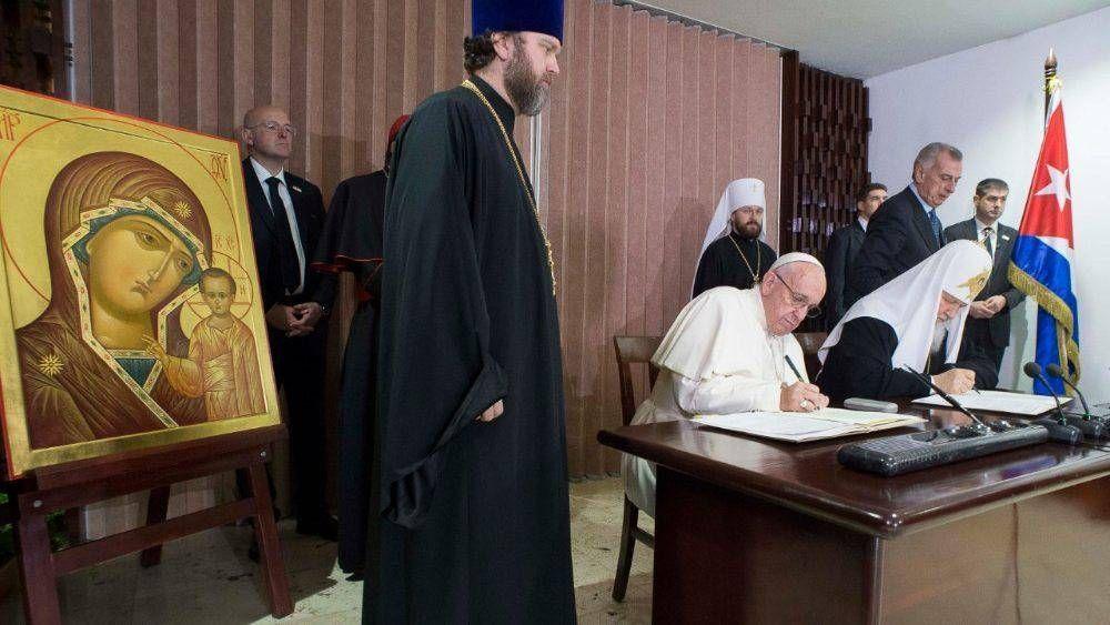 Hace 5 años el encuentro del Papa con el Patriarca Kiril en Cuba