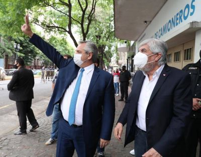 """Moyano: """"Por más que el gorilismo trate de atacar, apoyamos al Gobierno"""""""