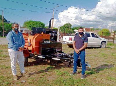 Ponen en marcha el programa municipal Frías Limpio