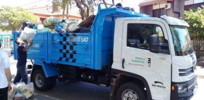 Recolección de residuos y servicios municipales: ¿Cómo funcionarán durante los feriados en San Martín?
