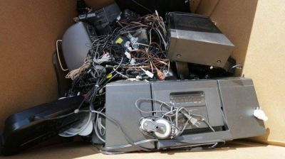 Campaña de recolección de residuos de aparatos electrónicos