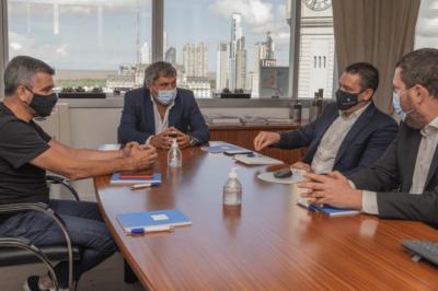 Zabaleta se reunió con el titular de ENACOM para avanzar en proyectos de conectividad