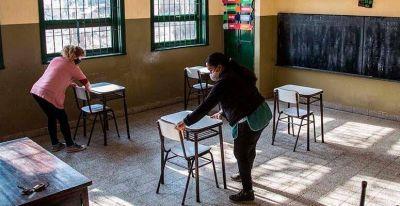 Merlo: Consejo Escolar esta semana comienza la entrega de elementos de limpieza y de seguridad y acto público virtual