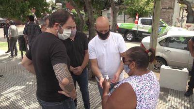 Juan Andreotti compartió un operativo para acercar servicios importantes en Virreyes Oeste