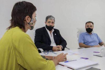 Reunión para avanzar con la implementación de la tarifa social y la tarifa comunitaria en la factura de agua en Quilmes