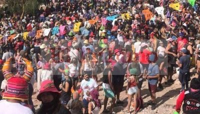 Descontrol en Tilcara: el intendente justificó el desborde de gente en el pueblo