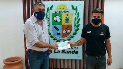 La Banda brindó asistencia económica a un ciudadano que necesita someterse a estudios médicos