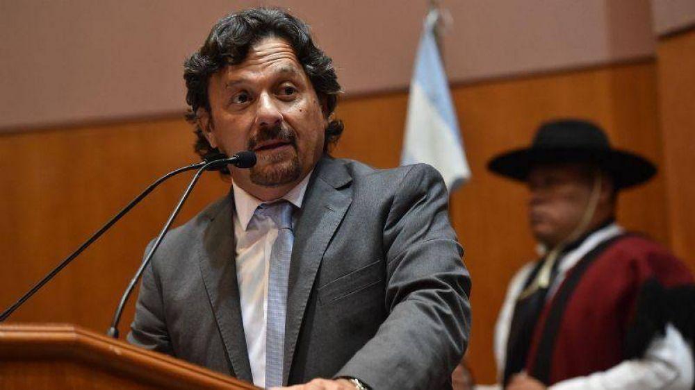 El gobernador de Salta mantuvo un encuentro con las autoridades de YPF y Petroandina