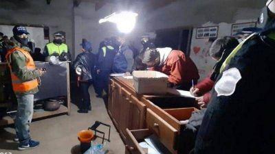 El Mollar: desalojaron una fiesta dónde había 150 personas