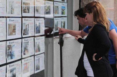 Martilleros proponen un plan para normalizar el precio de los alquileres de manera escalonada