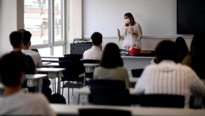 Regreso al aula: los alumnos presenciales cursarán turnos de 4 horas