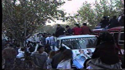 El día en que Julio Carpinetti y Carlos Menem se chicanearon en un acto político en Florencio Varela