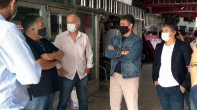 Jorge Macri y Néstor Grindetti visitaron juntos Avellaneda